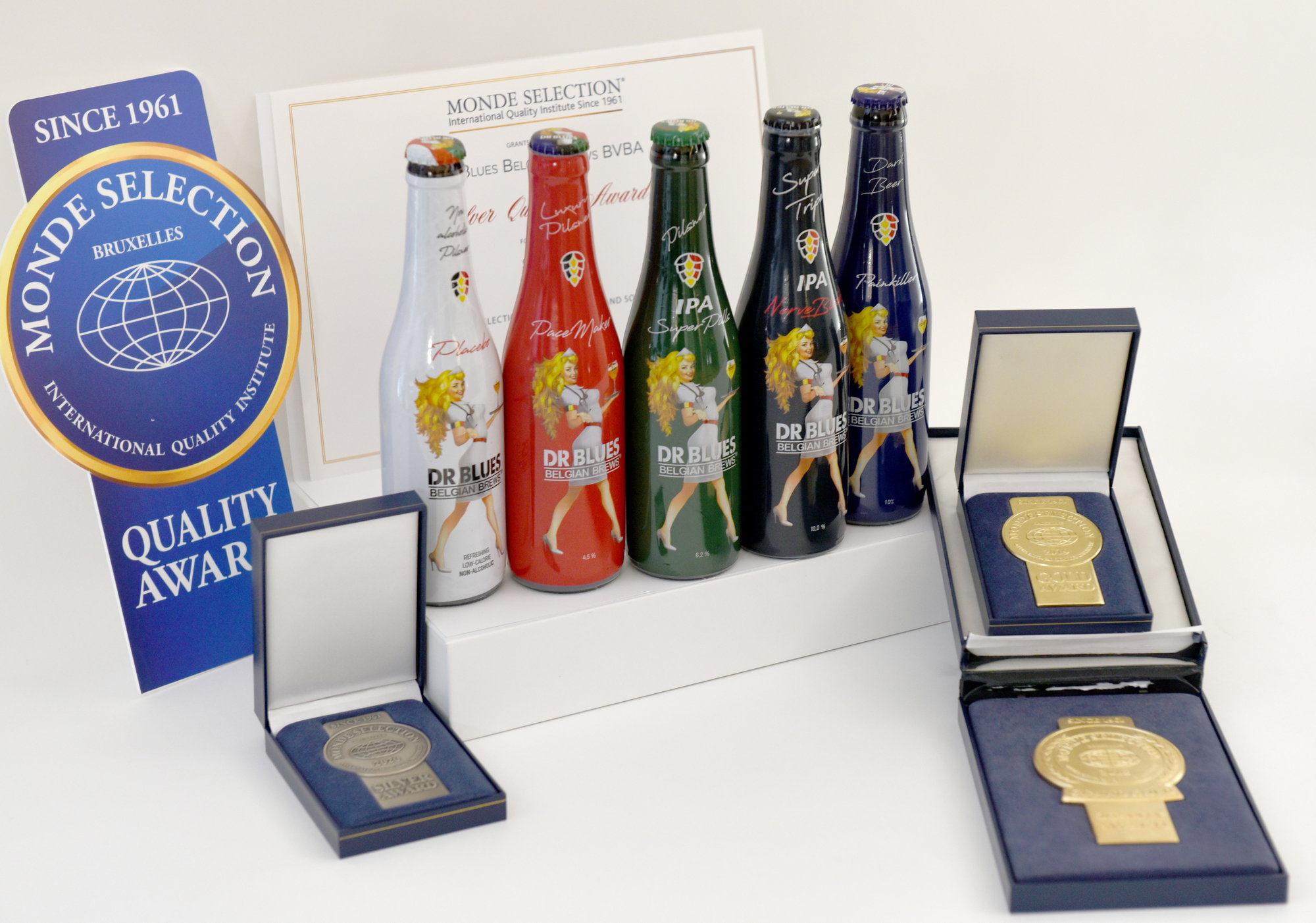 Monde Selection Quality Award for beers